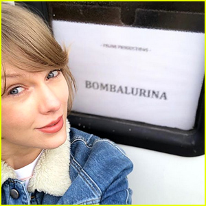 Taylor Swift Posts From the Set of 'Cats' - See the Pics!