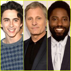 Timothee Chalamet, Viggo Mortensen, & John David Washington Hit the BAFTA Tea Party Red Carpet!