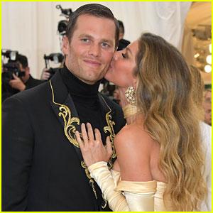 Tom Brady & Wife Gisele Bundchen's Cutest PDA Moments Over
