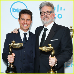 Tom Cruise & 'Mission Impossible: Fallout' Director Get Honored at Harold Lloyd Awards 2019!