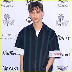 Troye Sivan Talks Switch from Music to Hollywood at Variety's Palm Springs Event