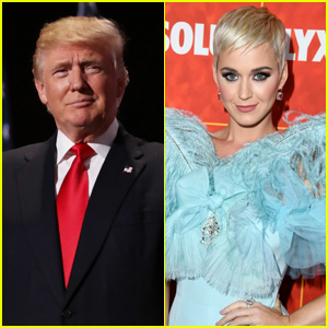 Donald Trump 'Likes' Old Tweet About Katy Perry