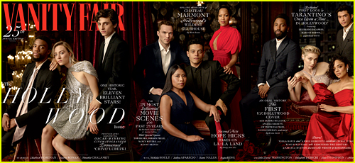 Vanity Fair's Hollywood Issue Features 11 Famous Stars!