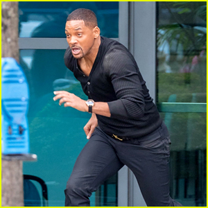 Will Smith Films Action Scene for 'Bad Boys for Life'!