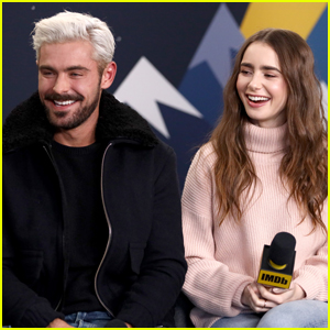 Zac Efron Debuts Bleached Blonde Hair At Sundance Film Festival 2019 2019 Sundance Film Festival Angela Sarafyan Haley Joel Osment Lily Collins Zac Efron Just Jared
