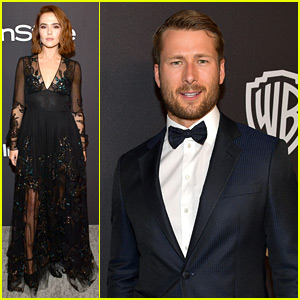 Set It Up's Zoey Deutch & Glen Powell Film a Cute Video at InStyle's Golden Globes Party!