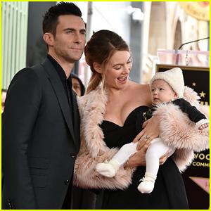 Adam Levine's Wife Behati Prinsloo & Kids - Cute Pics!
