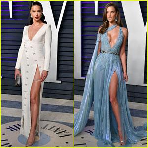 Adriana Lima & Alessandra Ambrosio Join Fellow Victoria's Secret Angels at Oscars 2019 Party!