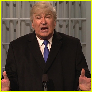 Alec Baldwin Returns as Trump to Declare National Emergency on 'SNL' - Watch Here!