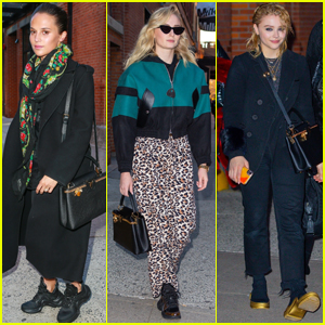 Alicia Vikander, Sophie Turner, & Chloe Moretz Team Up for Louis Vuitton Project