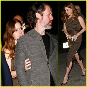 Amy Adams & Husband Darren Le Gallo Stop by WME's Pre-Oscar Party