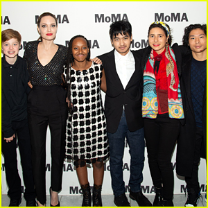 Angelina Jolie's Kids Join Her for NYC Movie Premiere!