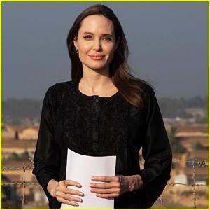 Angelina Jolie Visits Rohingya Refugee Camps, Says 'We Cannot Say We Had No Warning'