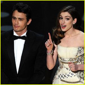 Anne Hathaway Mocks Herself Over Oscars 2011 Hosting Gig