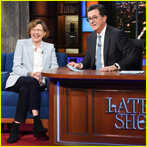 Annette Bening Confirms 'Captain Marvel' Role on 'Late Show'!