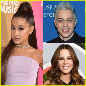 Ariana Grande Reacts to Pete Davidson & Kate Beckinsale's Romance