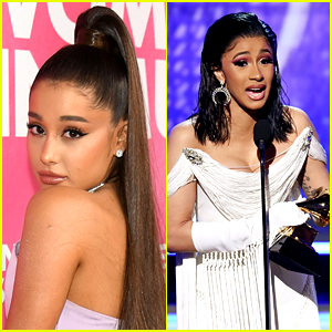 Ariana Grande Explains Why She Tweeted 'Trash' During Cardi B's Grammys Acceptance Speech