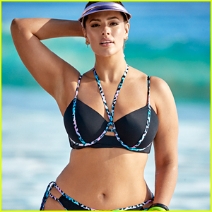 Ashley Graham Slays in a Bikini for New Swimsuits For All Collection