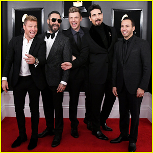 Backstreet Boys Suit Up for Grammys 2019 Red Carpet!