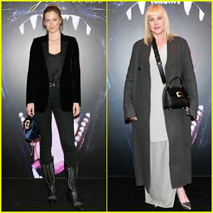 Bar Refaeli & Patricia Arquette Step Out for Roger Vivier: Day Dream Vivier Paris Show!