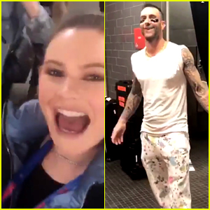 Behati Prinsloo Is 'More Nervous' Than Adam Levine Ahead of Super Bowl Halftime Show!