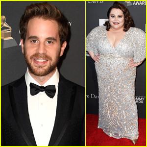 Ben Platt & Keala Settle Step Out for Clive Davis' Pre-Grammys Party