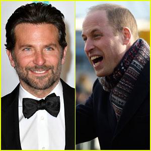 Bradley Cooper Made Prince William Laugh at the BAFTAs!
