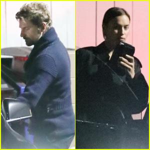 Bradley Cooper & Irina Shayk Enjoy a Romantic Valentine's Day Dinner