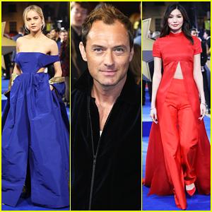 Brie Larson, Jude Law & Gemma Chan Celebrate 'Captain Marvel' European Premiere!