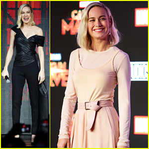 Brie Larson Kicks Off 'Captain