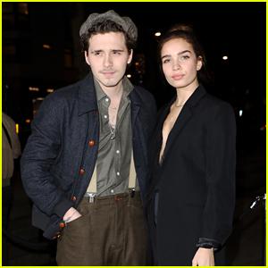 Brooklyn Beckham & Girlfriend Hana Cross Couple Up at London's Fabulous Fund Fair