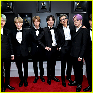 K-Pop Group BTS Looks Handsome on the Red Carpet at Grammys 2019