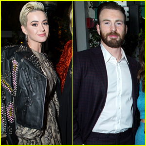 Katy Perry, Chris Evans, & Lots More Stars Attend CAA's Pre-Oscar Party!