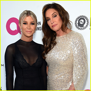 Caitlyn Jenner & Sophia Hutchins Team Up at Elton John's Oscars 2019 Party