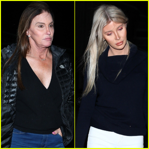 Caitlyn Jenner Grabs Dinner with Sophia Hutchins in Malibu