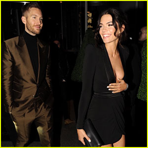 Calvin Harris & Girlfriend Aarika Wolf Look Picture Perfect at BRIT Awards After Party
