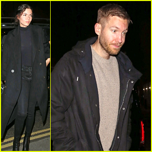 Calvin Harris & Girlfriend Aarika Wolf Enjoy a London Date Night