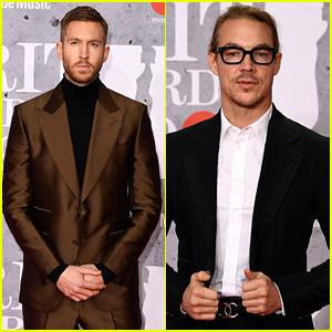 Calvin Harris & Diplo Look Sharp at BRIT Awards 2019