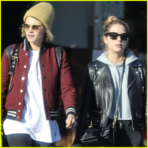 Cara Delevingne & Ashley Benson Step Out for Lunch in WeHo