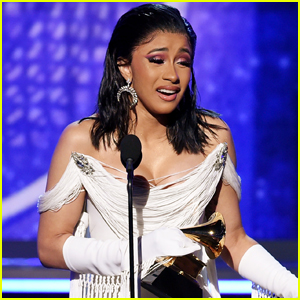 Cardi B is Speechless After Grammys 2019 Win for Best Rap Album - Watch Here!