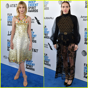 Carey Mulligan Shines Alongside Zoe Kazan at Spirit Awards 2019