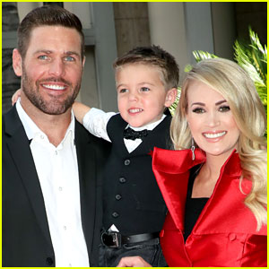 Carrie Underwood Sings 'Happy Birthday' to Her Son with the Help of Helium!