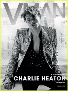 Charlie Heaton Opens Up About Working With Girlfriend Natalia Dyer in 'V Man' Magazine