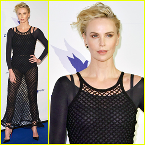 Charlize Theron Supports Cinema for Peace Foundation at Berlin Film Fest!