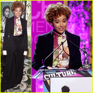Amandla Stenberg Gets Honored at Essence's Black Women in Hollywood Luncheon