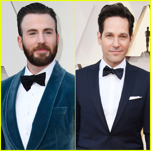 Chris Evans & Paul Rudd are Two Dapper Dudes at Oscars 2019