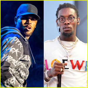 Chris Brown & Offset Fight Over 21 Savage Meme on Instagram