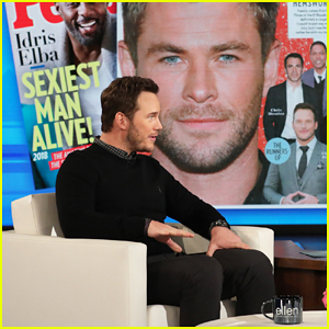 Chris Pratt Approves of 'Sexiest Chris' Title Going to Chris Hemsworth!