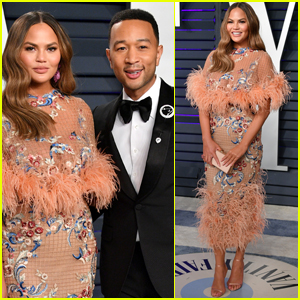 Chrissy Teigen & John Legend Are Picture Perfect at Vanity Fair's Oscars Party!