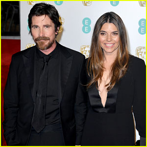 Christian Bale & Wife Sibi Attend BAFTAs 2019